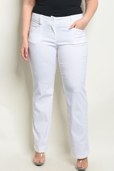 Royal Curves Off-White Trousers - My Royal Closet