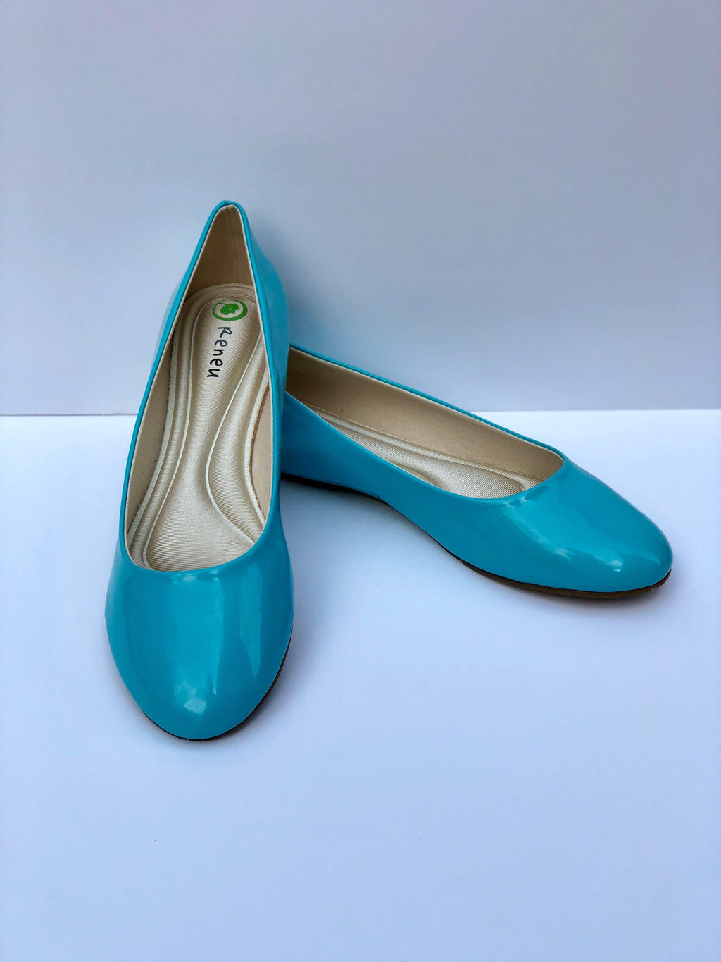 Neuaura Levy Sky Blue Flats - My Royal Closet