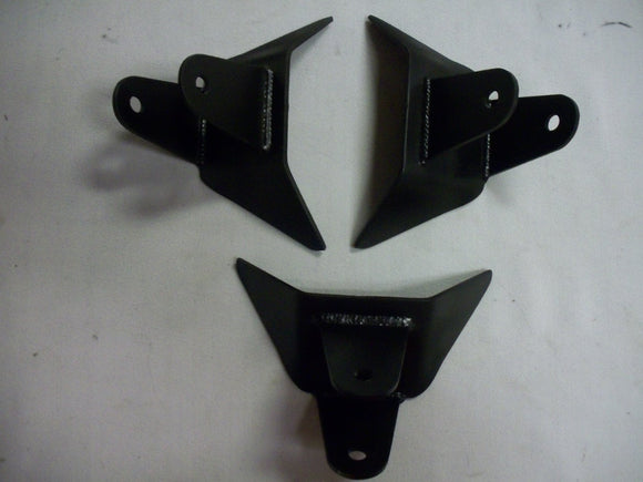 "SIDE FRAME BAR MOUNT 3"" WIDE PAIR"
