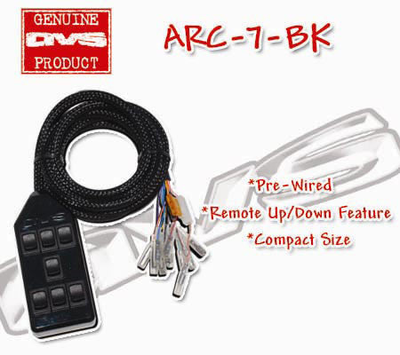 AVS ARC-7 Black Switchbox [ARC-7-bk]