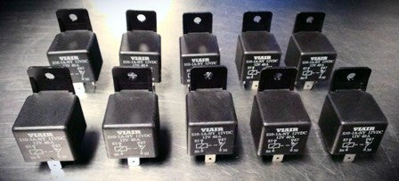 10 PACK VIAIR 40 AMP RELAY