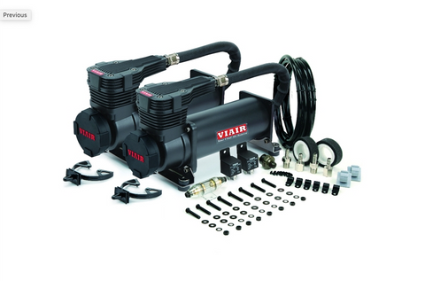 Viair 485c Dual Pack Black Air Compressor - Free Shipping