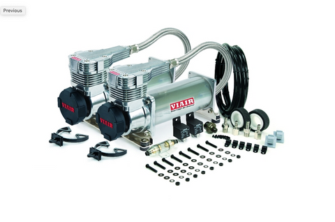 Ekstensive - ViAir 485c Dual Pack Platinum Air Compressor - Free Shipping