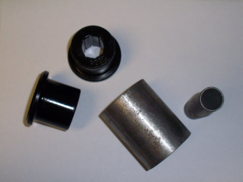 "Bar End w/ Bushing Kit (Weld On) - 3"" wide (5/8"" Inner Sleeve)"
