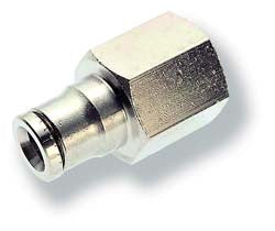 "1/4"" tube x 1/8"" fnpt Gauge Fitting"