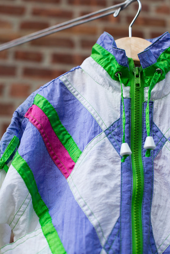 """BRAND NEW"" Vintage Multi-Color Windbreaker"