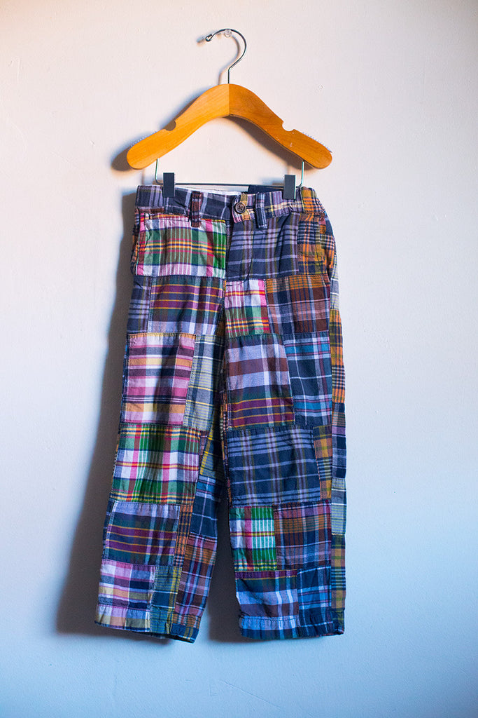 Classic Plaid Pants
