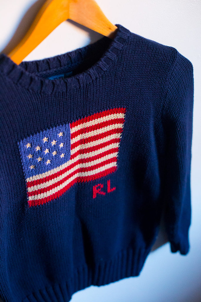 VINTAGE RL Flag Sweater