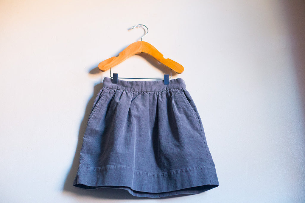 Basic Corduroy Skirt