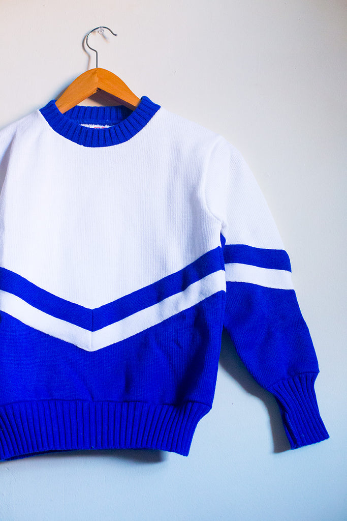 VINTAGE Cheerleader Sweater