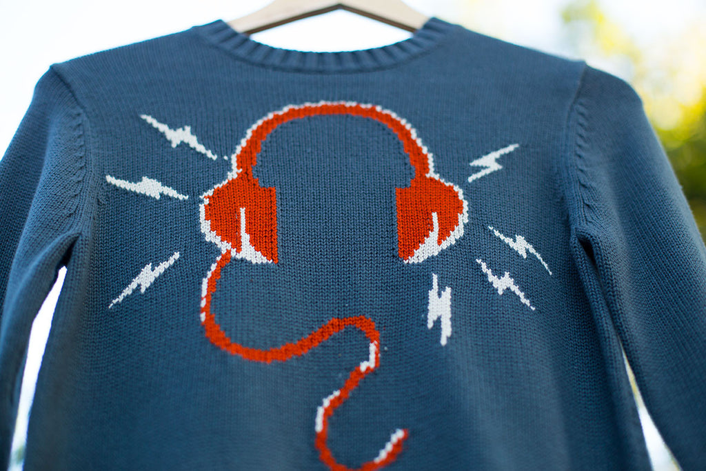 """BRAND NEW"" Headphones Sweater"