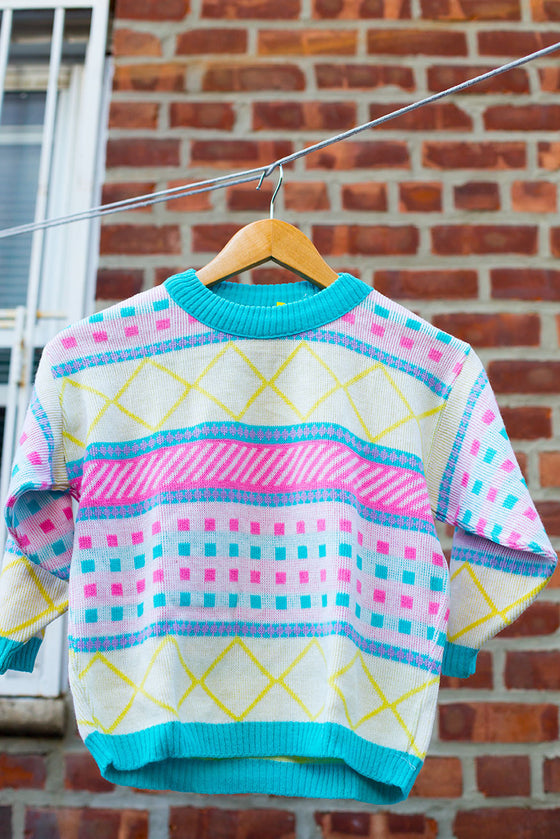 Vintage Multi-Color Sweater