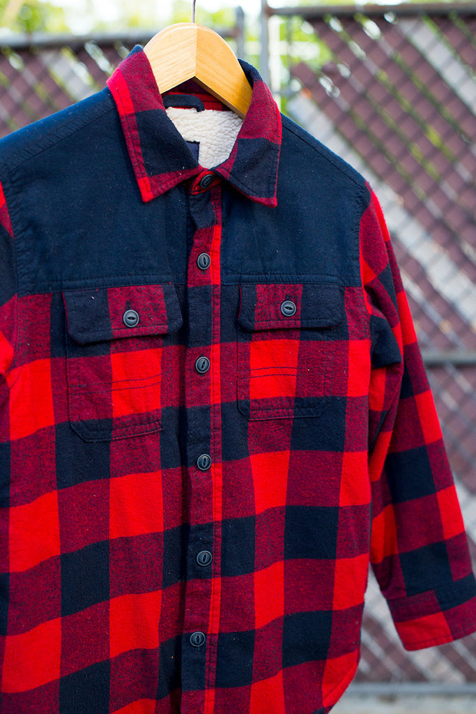 Plaid Lumber Jack Jacket