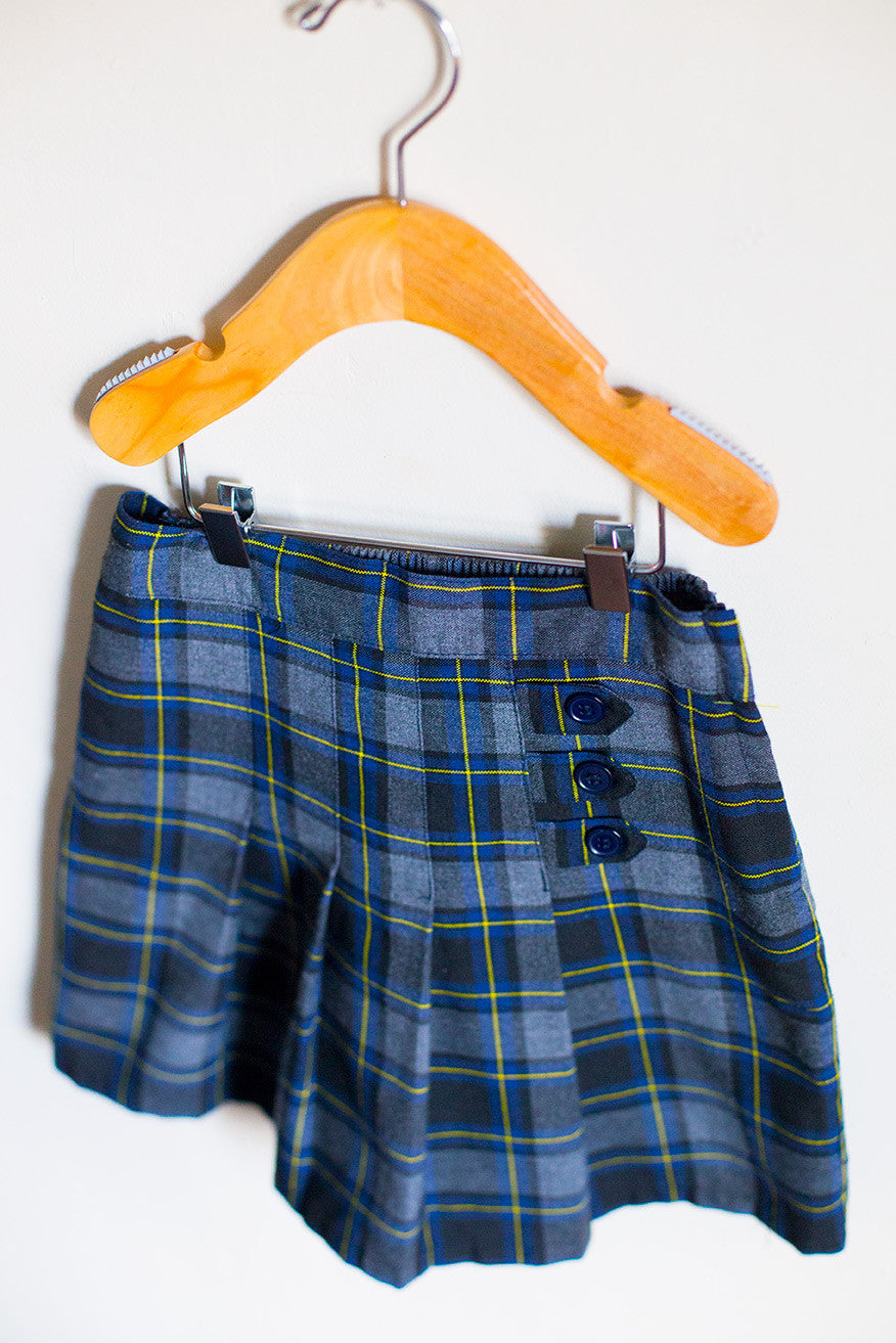 bb896780f9 French Toast Green Plaid Skirt