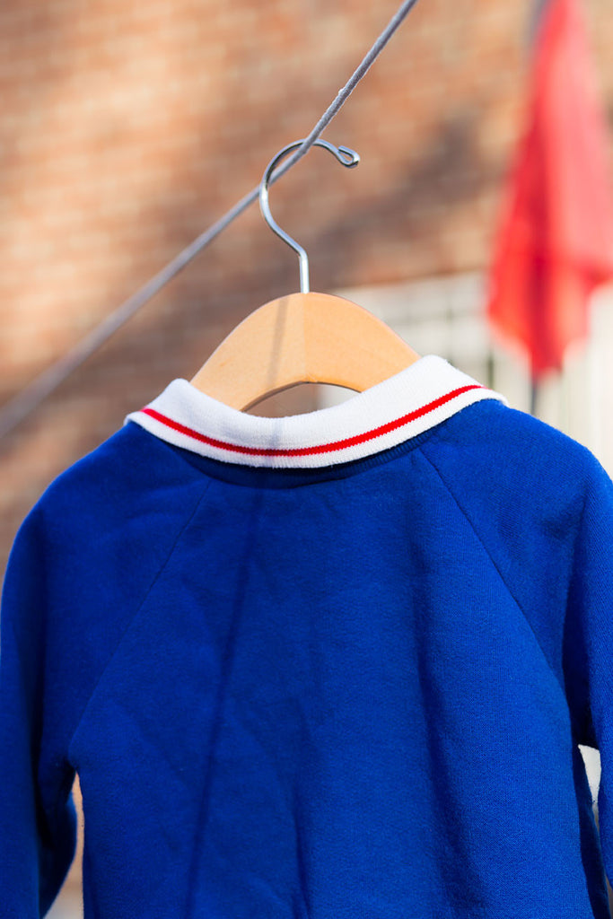 Vintage New York Giants Blue Sweater