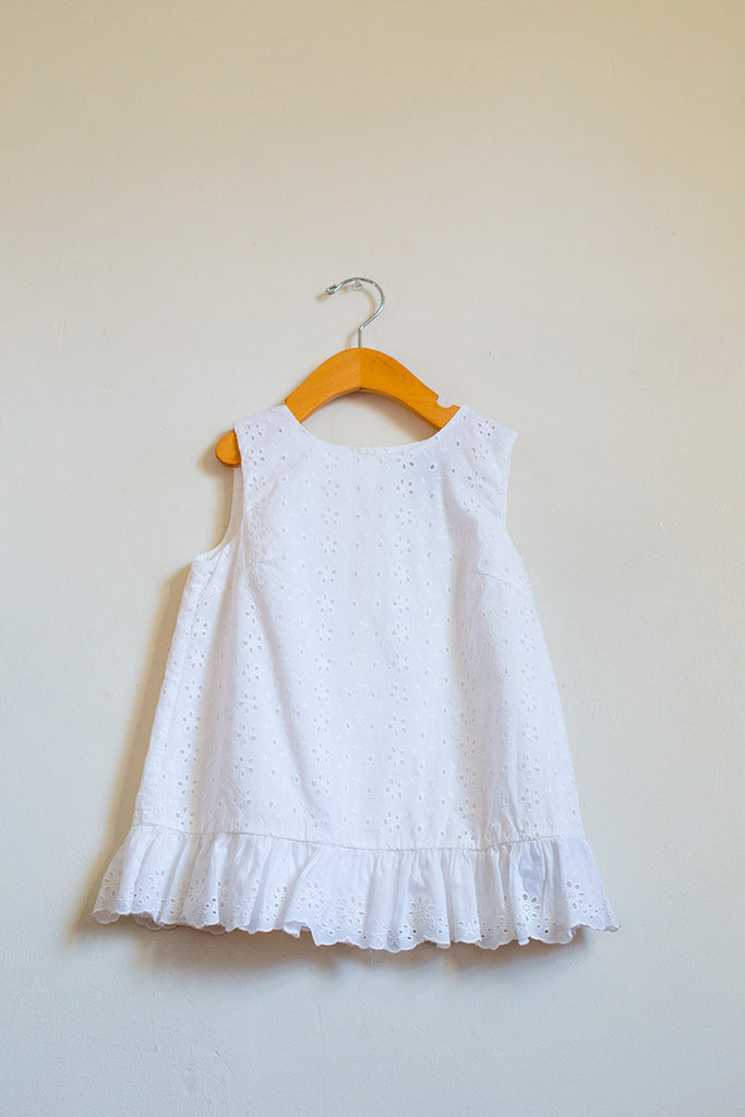 Summertime Eyelet Blouse