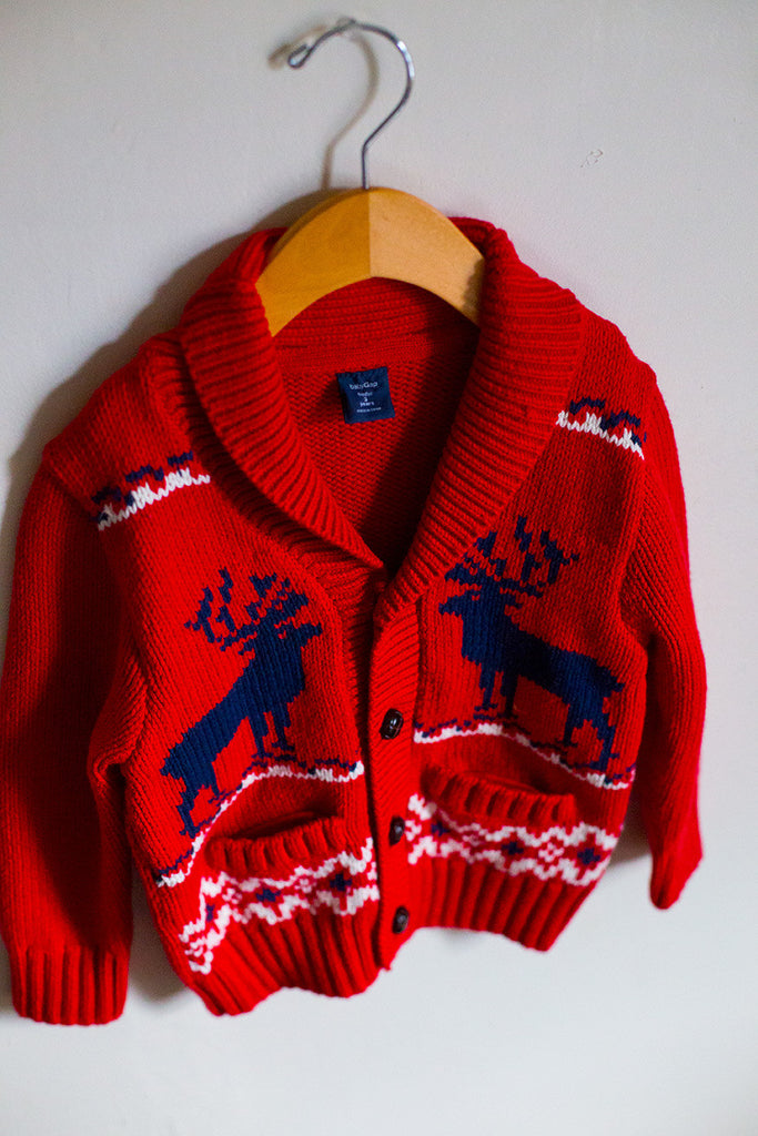 Holiday Cardigan