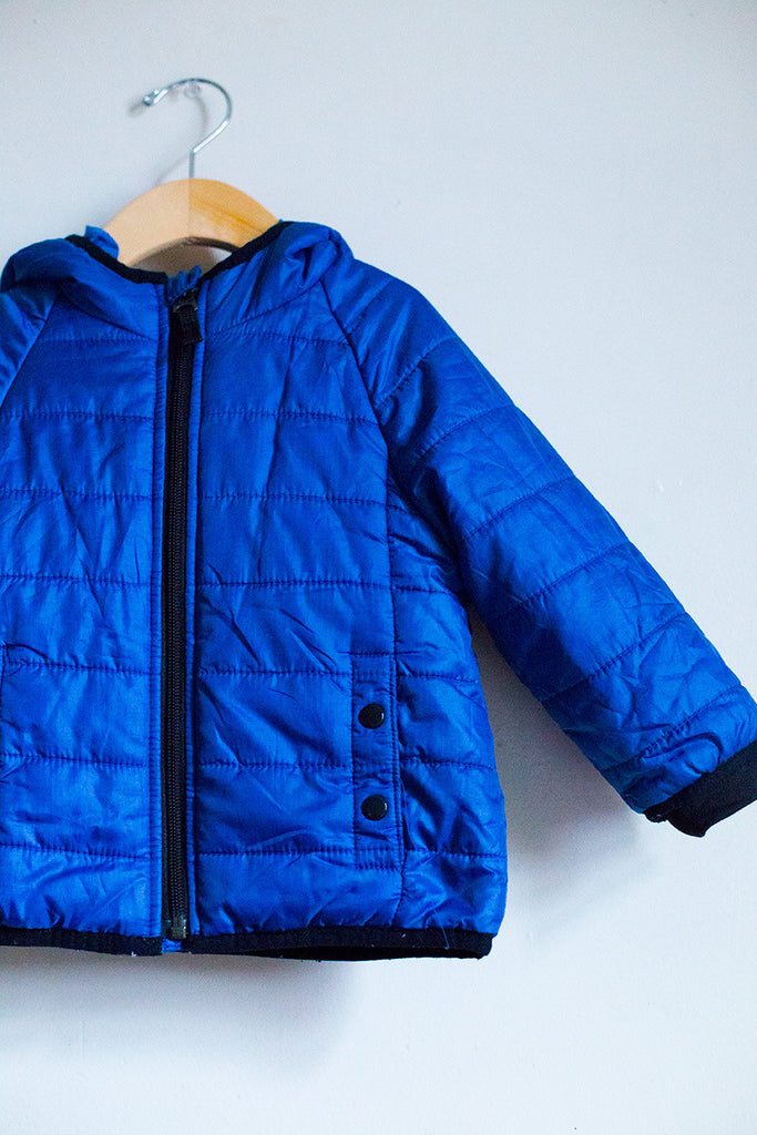 Light Weight Puffer Jacket w/Hood