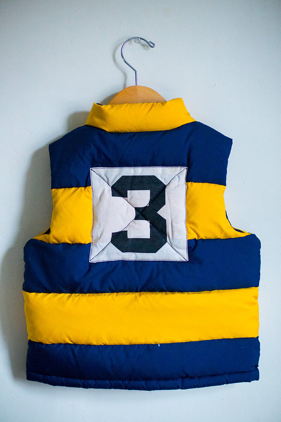 #3 Striped Bubble Vest