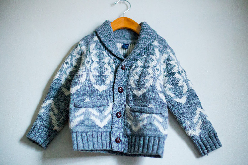 Warm Holiday Cardigan