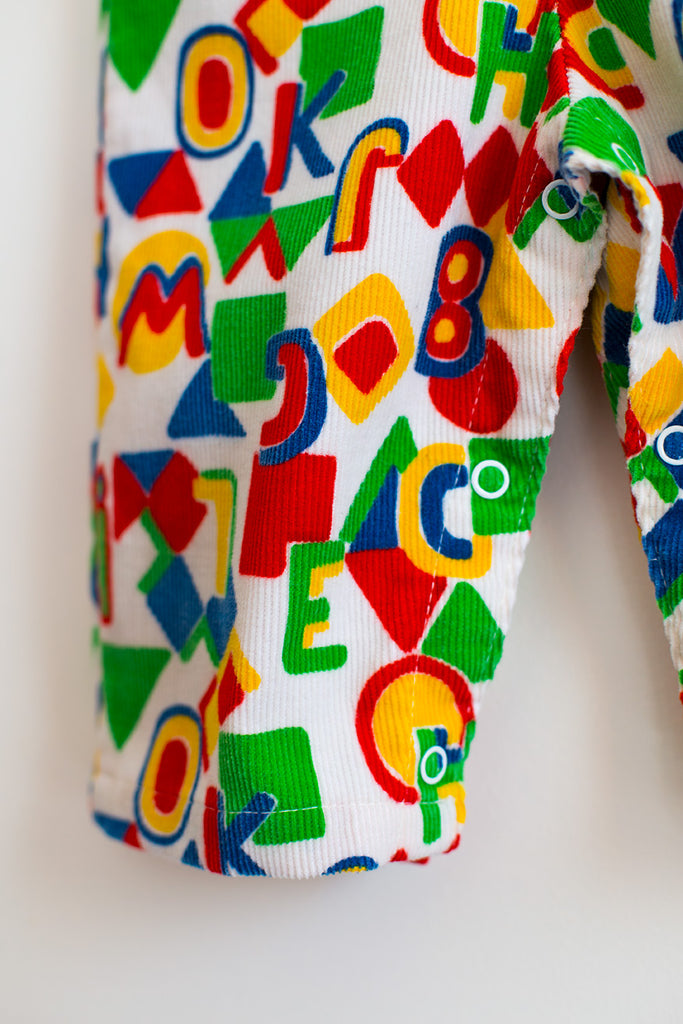 VINTAGE Multi-Color Romper