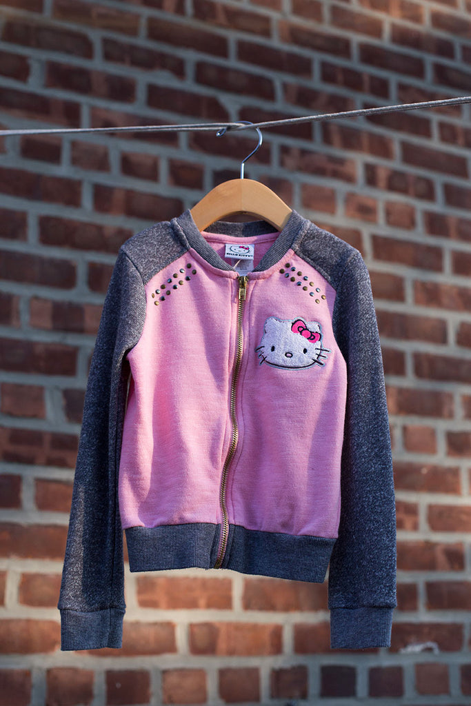 Hello Kitty Zip Up Sweater Jacket