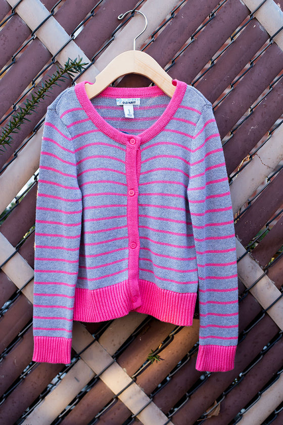 """BRAND NEW"" Striped Cardigan"