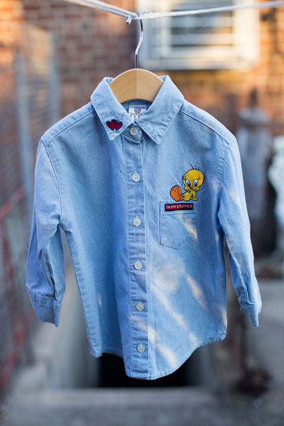 Vintage Warner Bros. Shirt Looney Tunes Tweety Bird