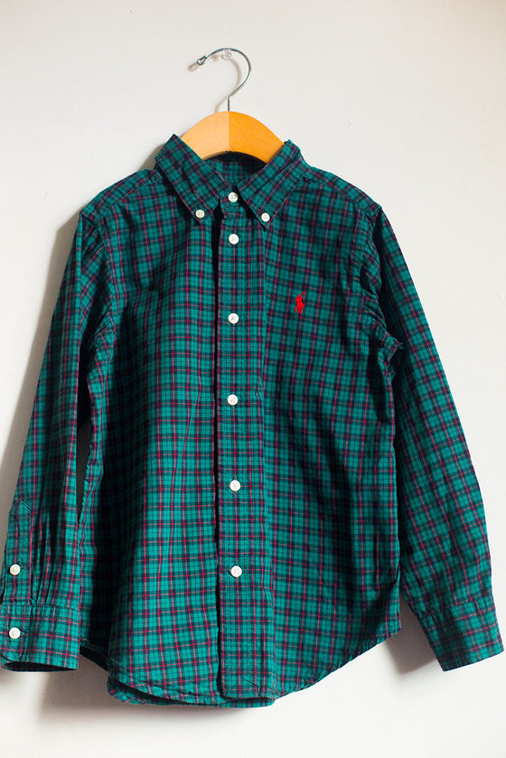 Classic Plaid Button Down