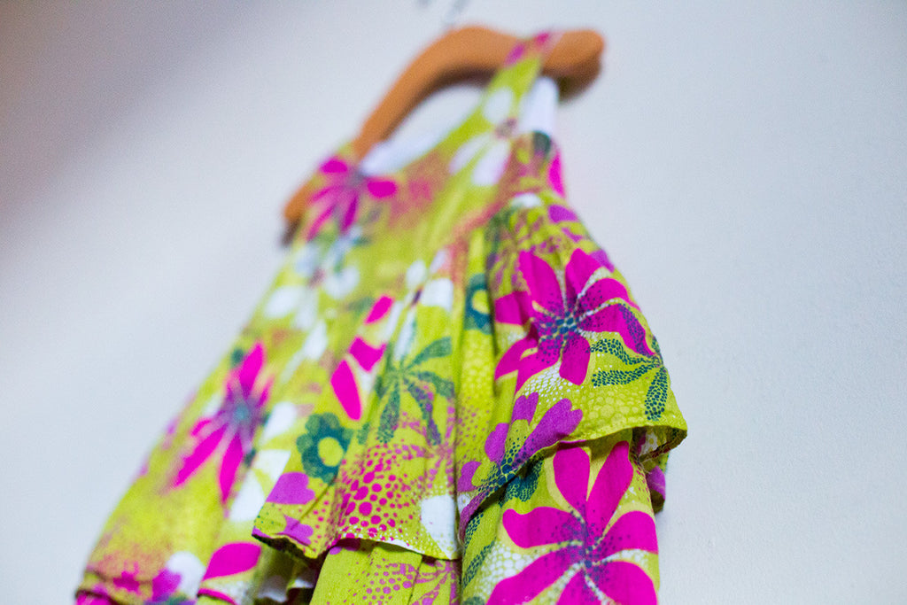 Floral Tiered Summer Dress