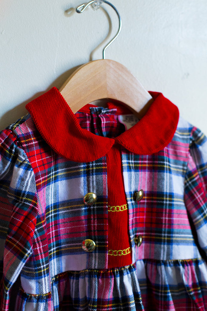 Vintage Tartan Dress