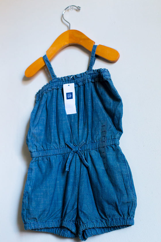 """BRAND NEW"" Chambray Romper"