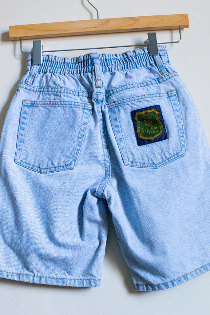 Vintage Light Wash Shorts