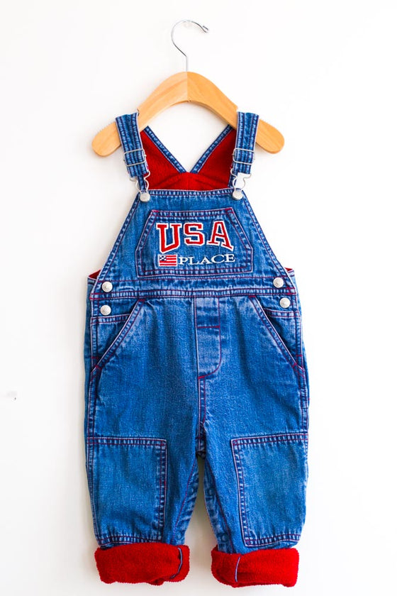 VINTAGE USA PLACE Denim Jumper