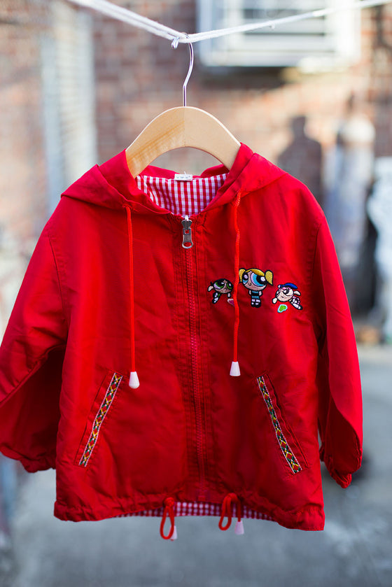 Powerpuff Girls Vintage Windbreaker Jacket