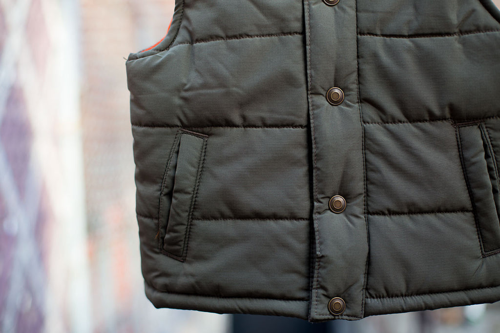 Rugged Puffer Vest