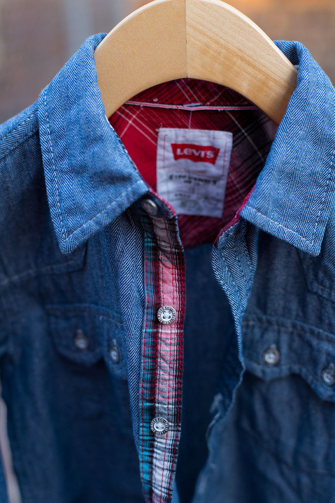 Chambray Button Down Shirt