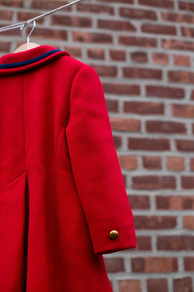 F.W. Fischer Red Flare Coat