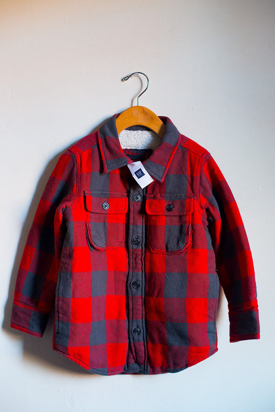 BRAND NEW Plaid Lumberjack Jacket