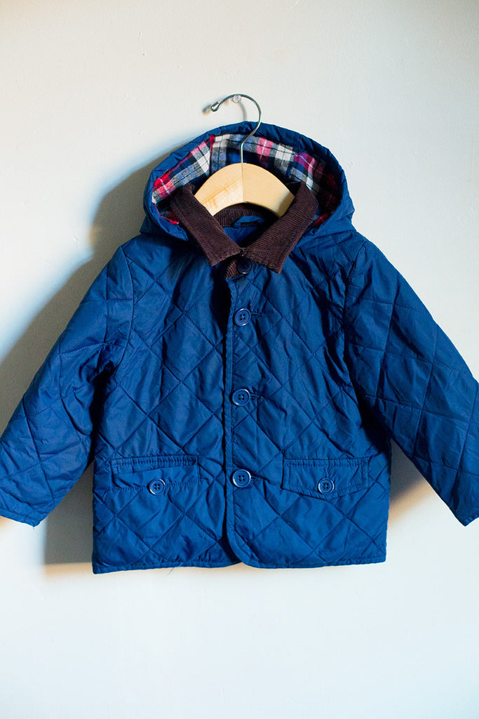 Quilted Jacket w/Hood