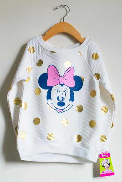 BRAND NEW Minnie Mouse Sweater