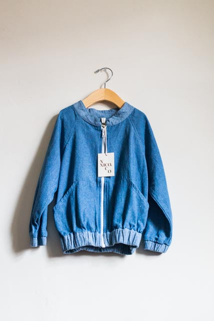 BRAND NEW Chambray Bomber