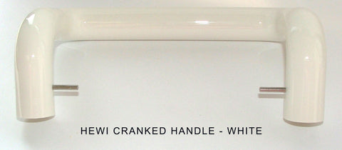 Hewi Handle Cranked White