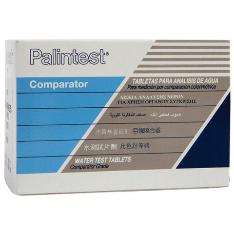 Palintest Comparator DPD 1 Tablets 250 Tests