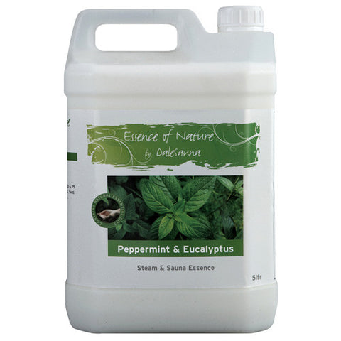 Sauna and Steam Essence - Peppermint and Eucalyptus 2 x 5ltr
