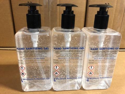 Hand Sanitiser 3 x 500ml