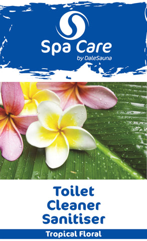 """Tropical Floral"" Toilet Cleaner Sanitiser 6 x 750ml"