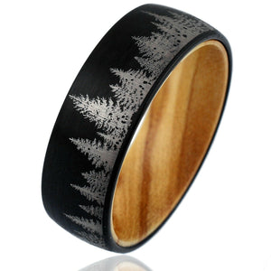 The Mountain Man - Cairo Men's Wedding Rings