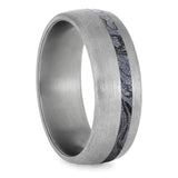 COBALTIUM MOKUME WEDDING BAND WITH TITANIUM-4227 - Cairo Men's Wedding Rings