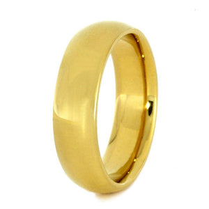 18k YELLOW GOLD RING-2831 - Cairo Men's Wedding Rings